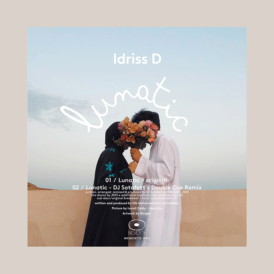 "Idriss D ""Lunatic"" incl Dj Sotofett remix -Memento 044"